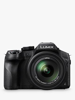 "Panasonic DMC-FZ330EBK Bridge Camera with 25-600mm LEICA Lens, 4K Ultra HD, 12MP, 24x Optical Zoom, 4x Digital Zoom, Wi-Fi, OLED Live Viewfinder, 3"" Vari-angle Touch Screen, Splash & Dustproof"