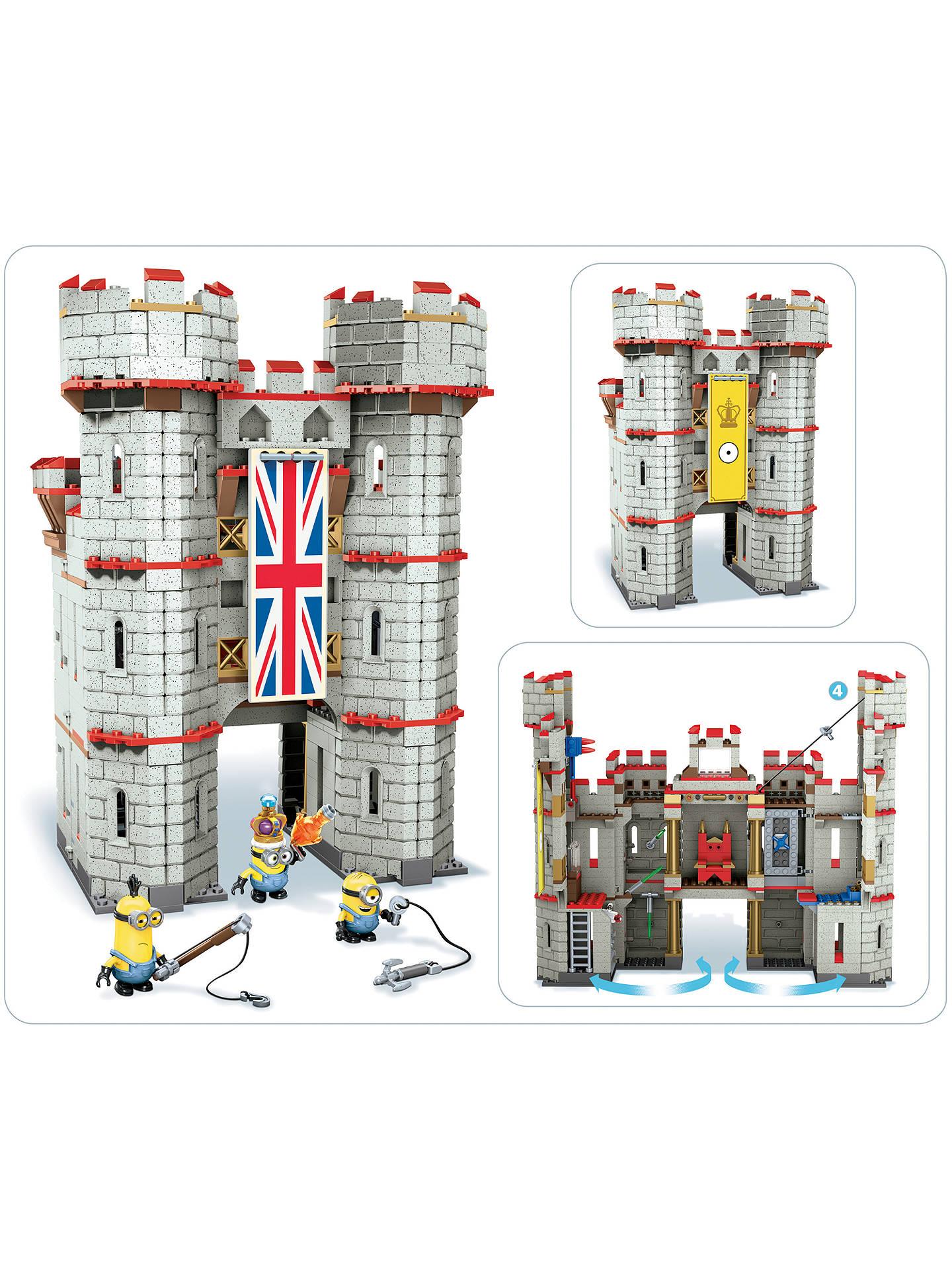 Mega Bloks Minions Castle Adventure at John Lewis & Partners