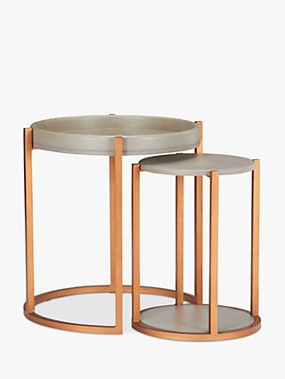 John Lewis & Partners Asha Nest Of 2 Tables