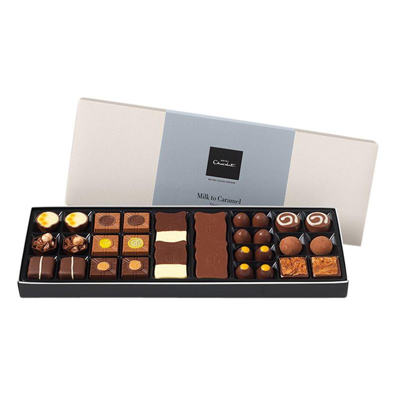 Hotel Chocolat Hotel Chocolat Milk to Caramel Sleeks Selection Box