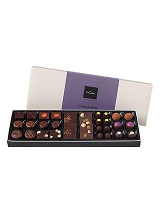 Hotel Chocolat Serious Dark Fix Sleekster Chocolate Selection Box