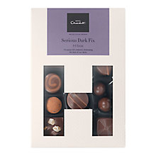 Buy Hotel Chocolat Serious Dark Fix H-Box Selection Box Online at johnlewis.com