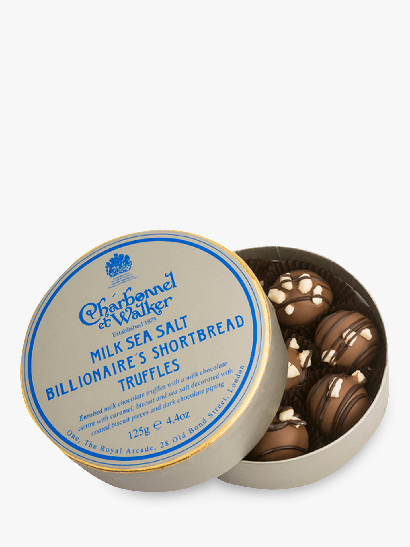 BuyCharbonnel et Walker Billionaire Shortbread Truffles, Box of 8, 125g Online at johnlewis.com