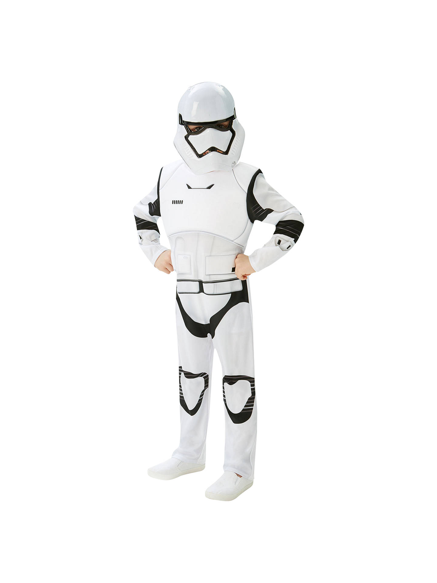 Buy Star Wars Episode VII: The Force Awakens Stormtrooper Children's Costume, 5-6 years Online at johnlewis.com