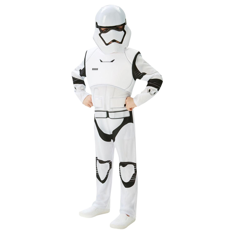 Rubies Star Wars Episode VII: The Force Awakens Stormtrooper Children's Costume, 5-6 years