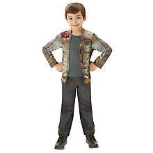 Buy Star Wars Episode VII: The Force Awakens Deluxe Finn Costume Online at johnlewis.com