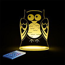 Buy Aloka Baby Owl Sleepylight Night Light Online at johnlewis.com