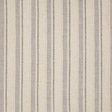 Buy John Lewis Parton Stripe Twill Fabric, Storm Grey, Price Band D Online at johnlewis.com