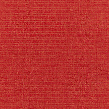 Buy John Lewis Riley Semi Plain Fabric, House Red, Price Band A Online at johnlewis.com