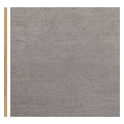 Buy John Lewis Rivoli Woven Chenille Fabric, Steel Grey, Price Band B Online at johnlewis.com