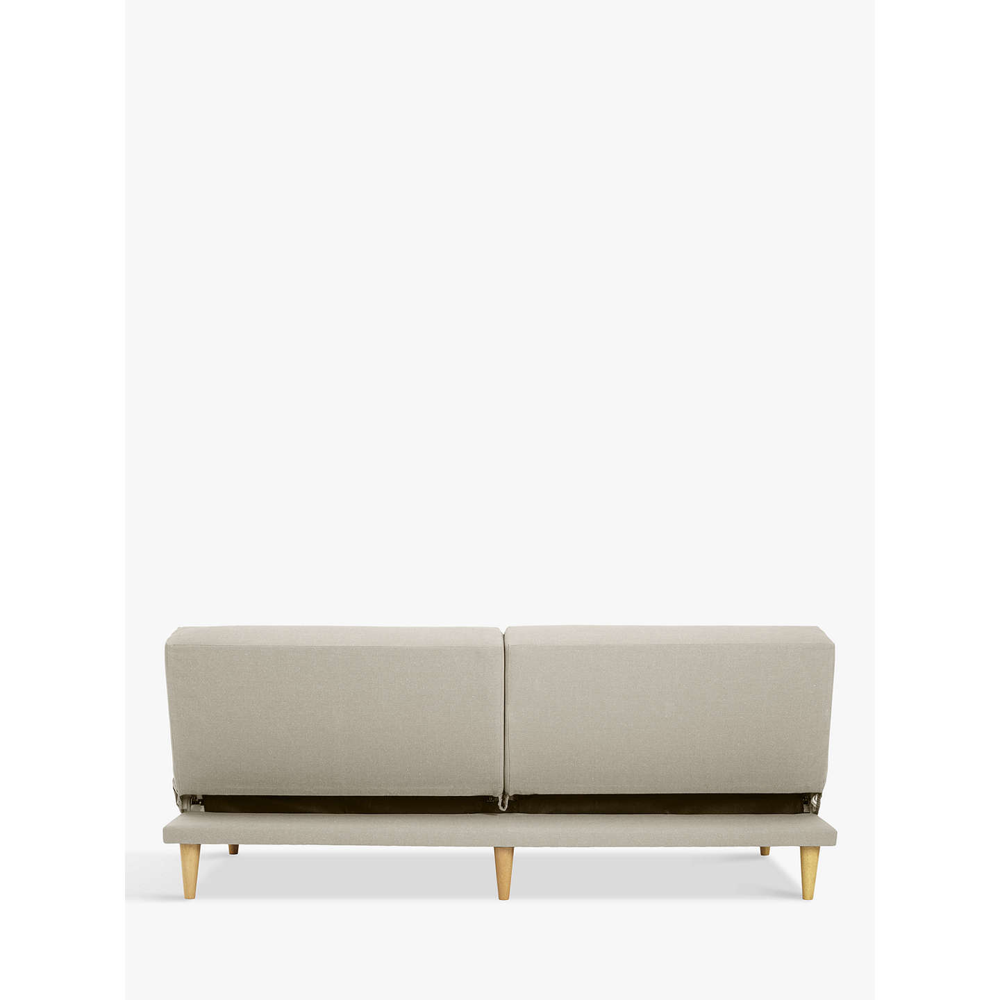 BuyJohn Lewis The Basics Clapton Sofa Bed with Foam Mattress, Putty Online at johnlewis.com