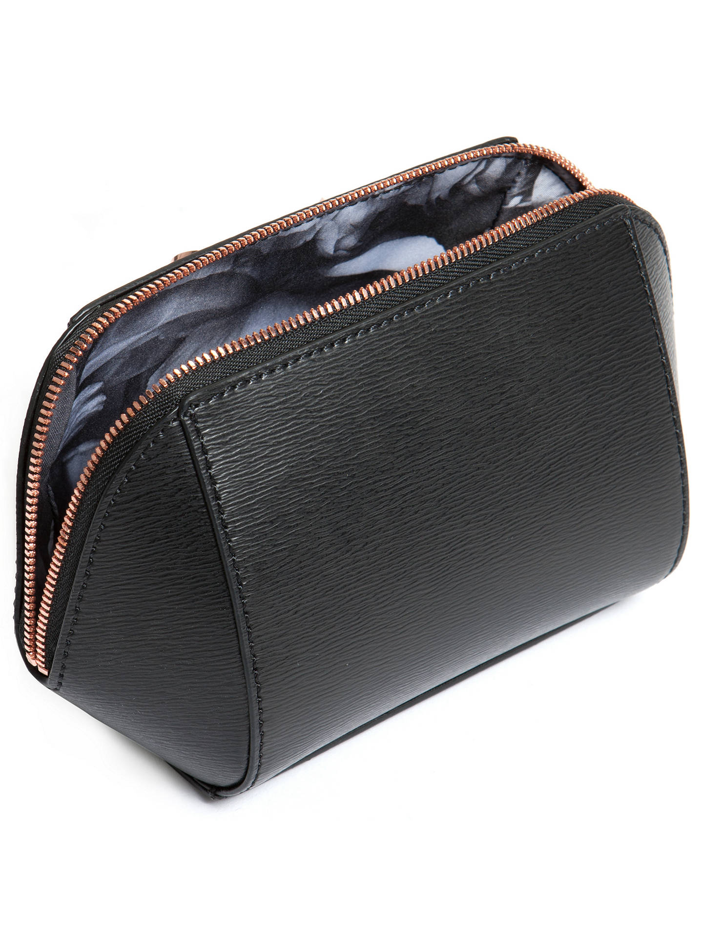 Ted Baker Ammi Bow Leather Makeup Bag