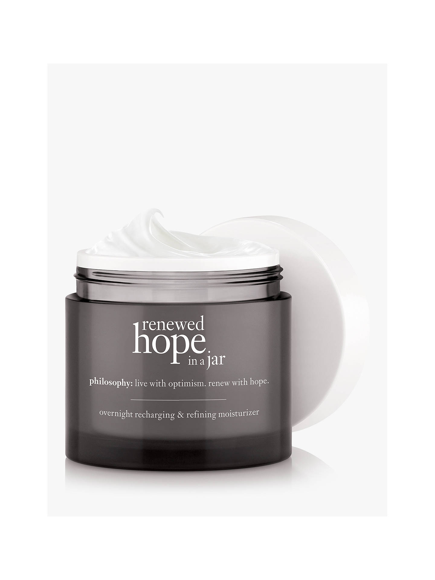 BuyPhilosophy Renewed Hope in a Jar Night Cream, 60ml Online at johnlewis.com