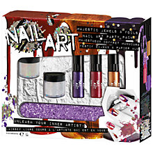 Buy Majestic Jewels Nail Art Gift Set Online at johnlewis.com