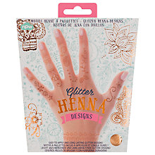 Buy NPW Body Henna Glitter Temporary Tattoo Online at johnlewis.com