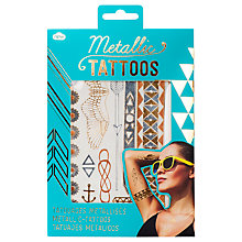 Buy Metallic Body Jewellery Temporary Tattoo Online at johnlewis.com