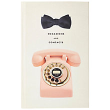 Buy kate spade new york Contacts Book Online at johnlewis.com