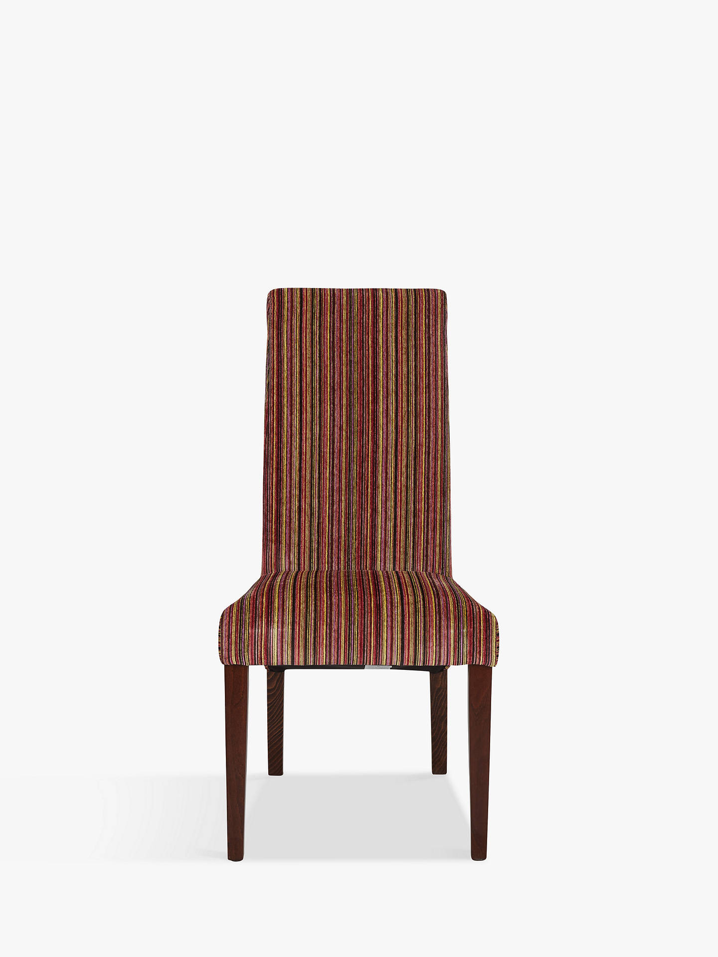 BuyJohn Lewis & Partners Maharani Upholstered Dining Chair, Raspberry Stripe Online at johnlewis.com