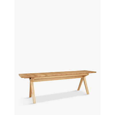 Bethan Gray for John Lewis & Partners Newman Small Dining Bench