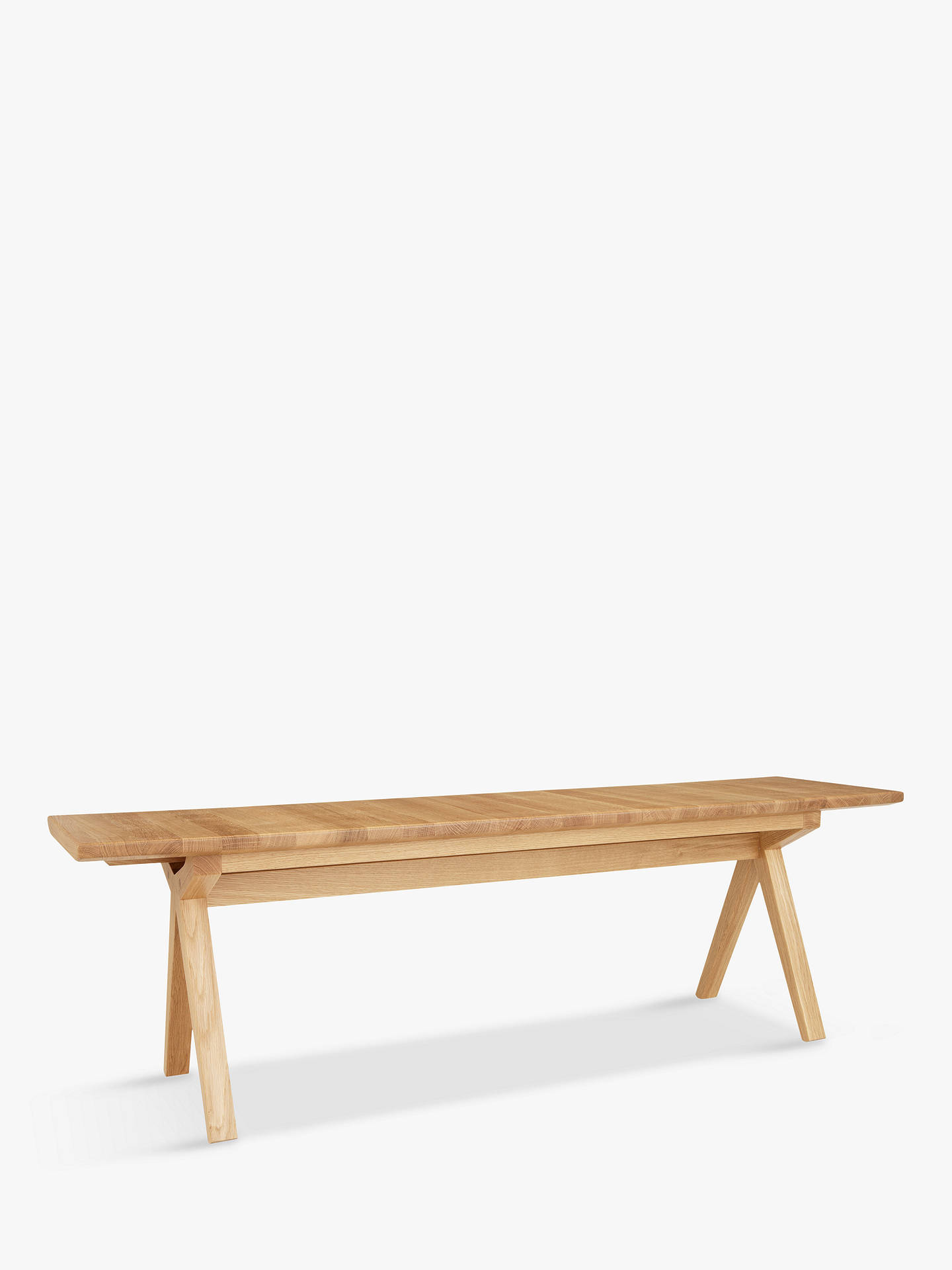 BuyBethan Gray for John Lewis Newman Small Dining Bench Online at johnlewis.com
