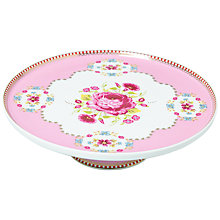 Buy PiP Studio Big Floral Mini Cake Stand, Pink Online at johnlewis.com