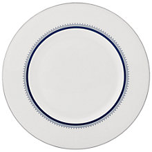 Buy Vera Wang for Wedgwood Grosgrain Indigo Side Plate, Dia.22cm Online at johnlewis.com