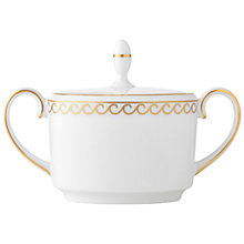 Buy Vera Wang Swirl Bone China Sugar Pot Online at johnlewis.com