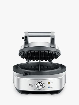 Buy Sage The No Mess Waffle Maker, Silver Online at johnlewis.com