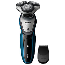 Buy Philips S5420/06 Aquatouch Electric Wet & Dry Shaver, Grey Online at johnlewis.com