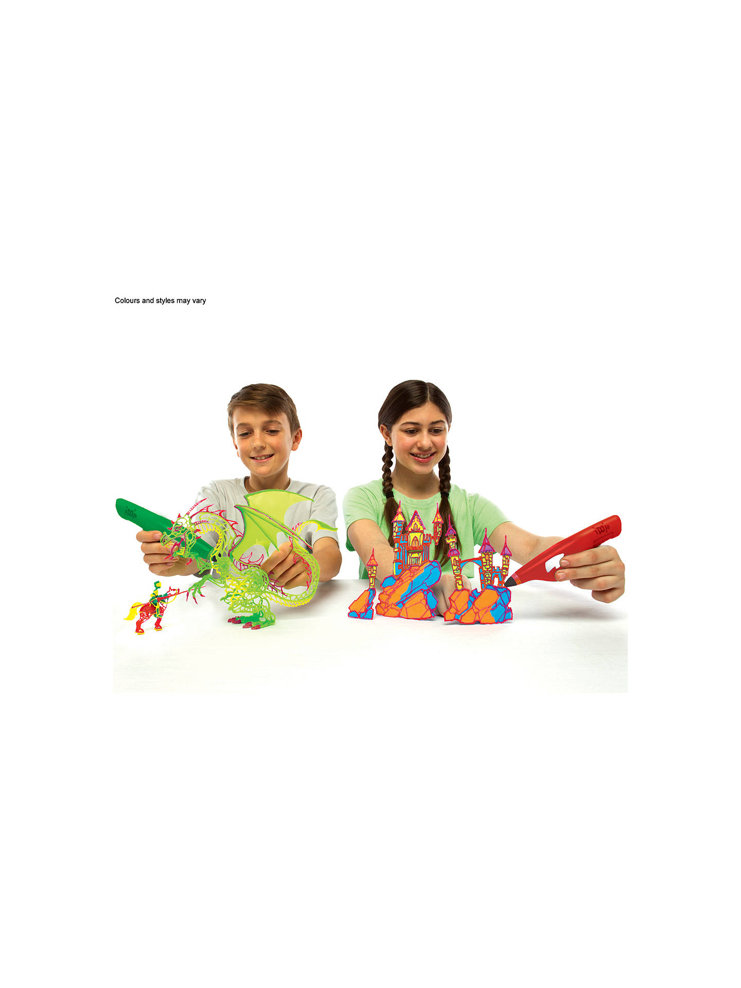 Buy Cool Create IDO3D Deluxe Design Studio Set Online at johnlewis.com