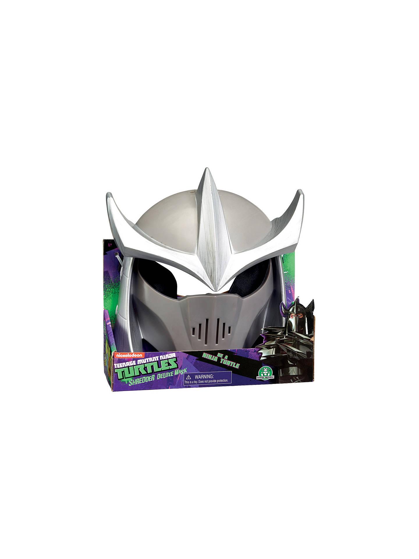 Teenage Mutant Ninja Turtles Deluxe Shredder Mask At John Lewis
