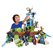 Buy Teenage Mutant Ninja Turtles Giant Leo Play Set Online at johnlewis.com