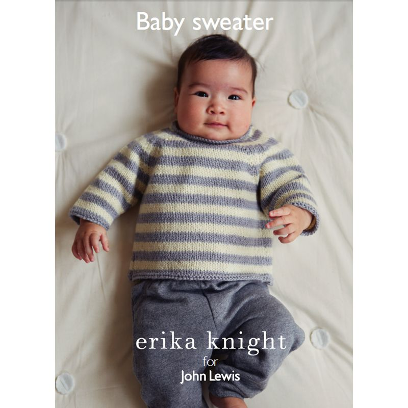 Knitting Pattern John Lewis : Buy Erika Knight for John Lewis Baby Sweater Knitting Pattern John Lewis