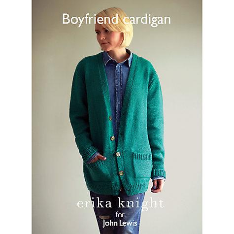 Buy Erika Knight for John Lewis Boyfriend Cardigan Knitting ...