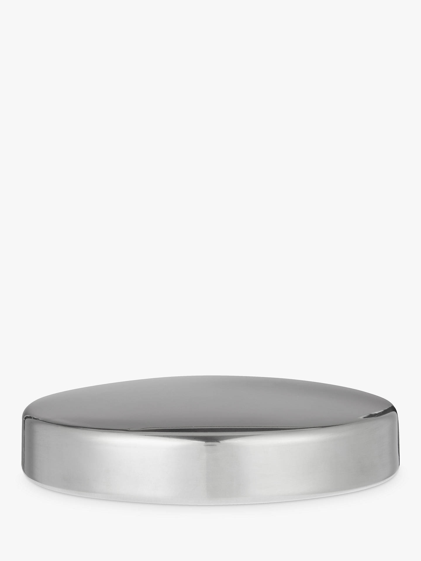 BuyJohn Lewis & Partners Stainless Steel Window Canister, Small Online at johnlewis.com