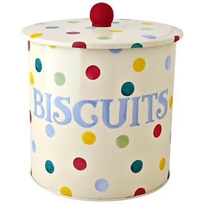 Emma Bridgewater Polka Dot Biscuit Barrel, Multi