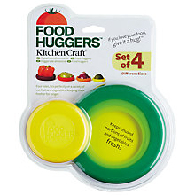 Buy Kitchen Craft Food Huggers, Set of 4 Online at johnlewis.com