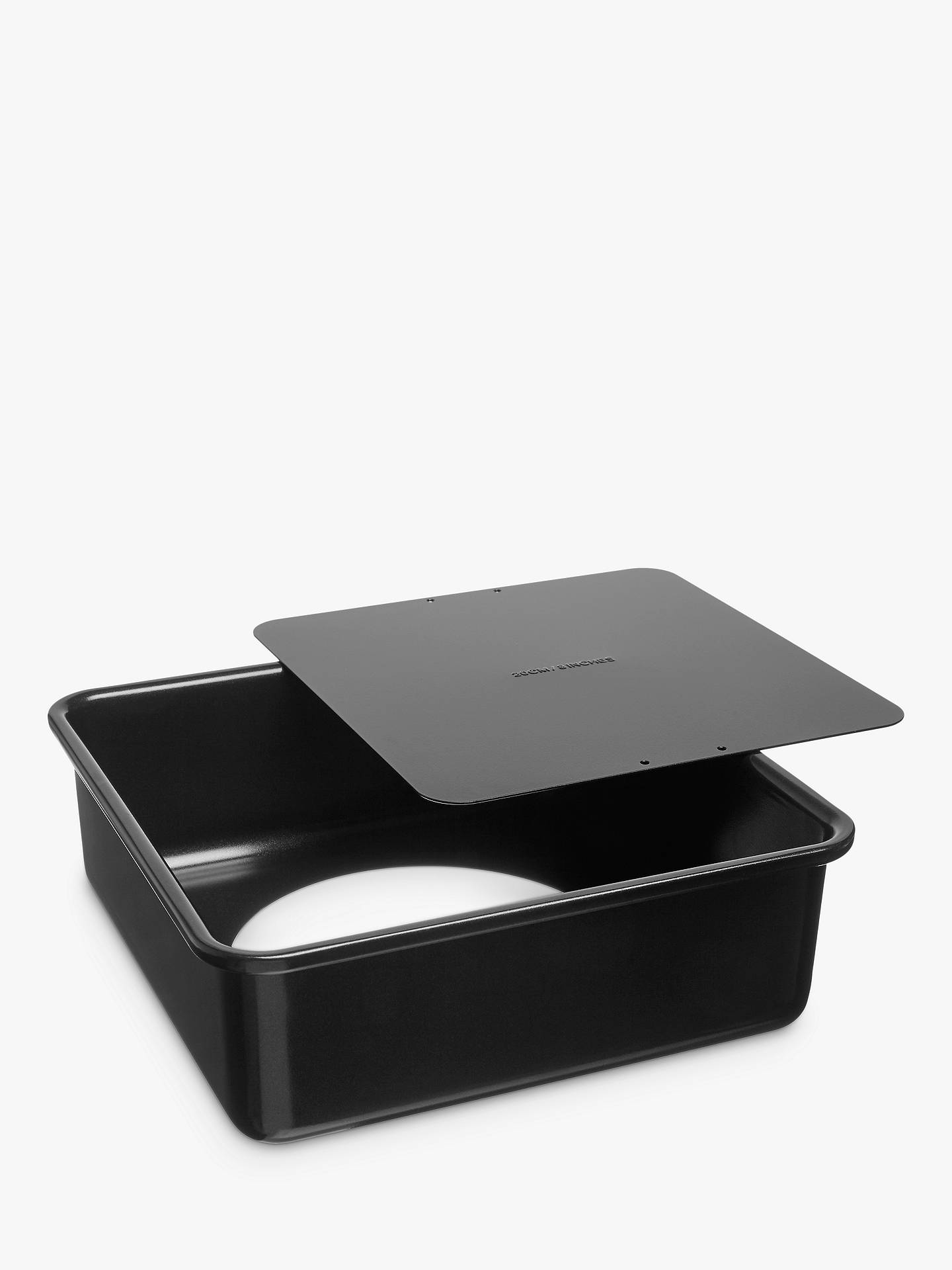 BuyJohn Lewis & Partners Professional Non-Stick Square Cake Tin, 20 x 20cm Online at johnlewis.com