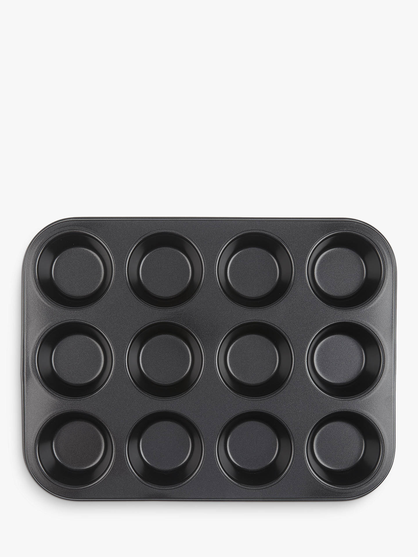 Buy John Lewis & Partners Professional Non-Stick 12 Cup Bun Tray Online at johnlewis.com