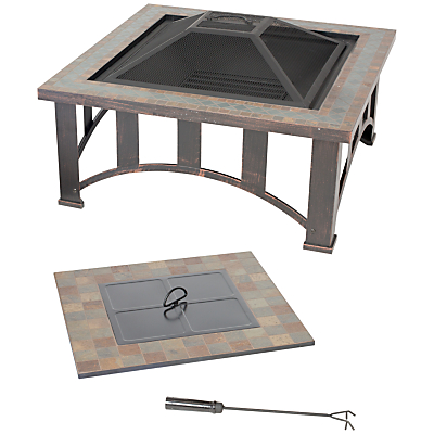 Image of La Hacienda Edenton Firepit Table