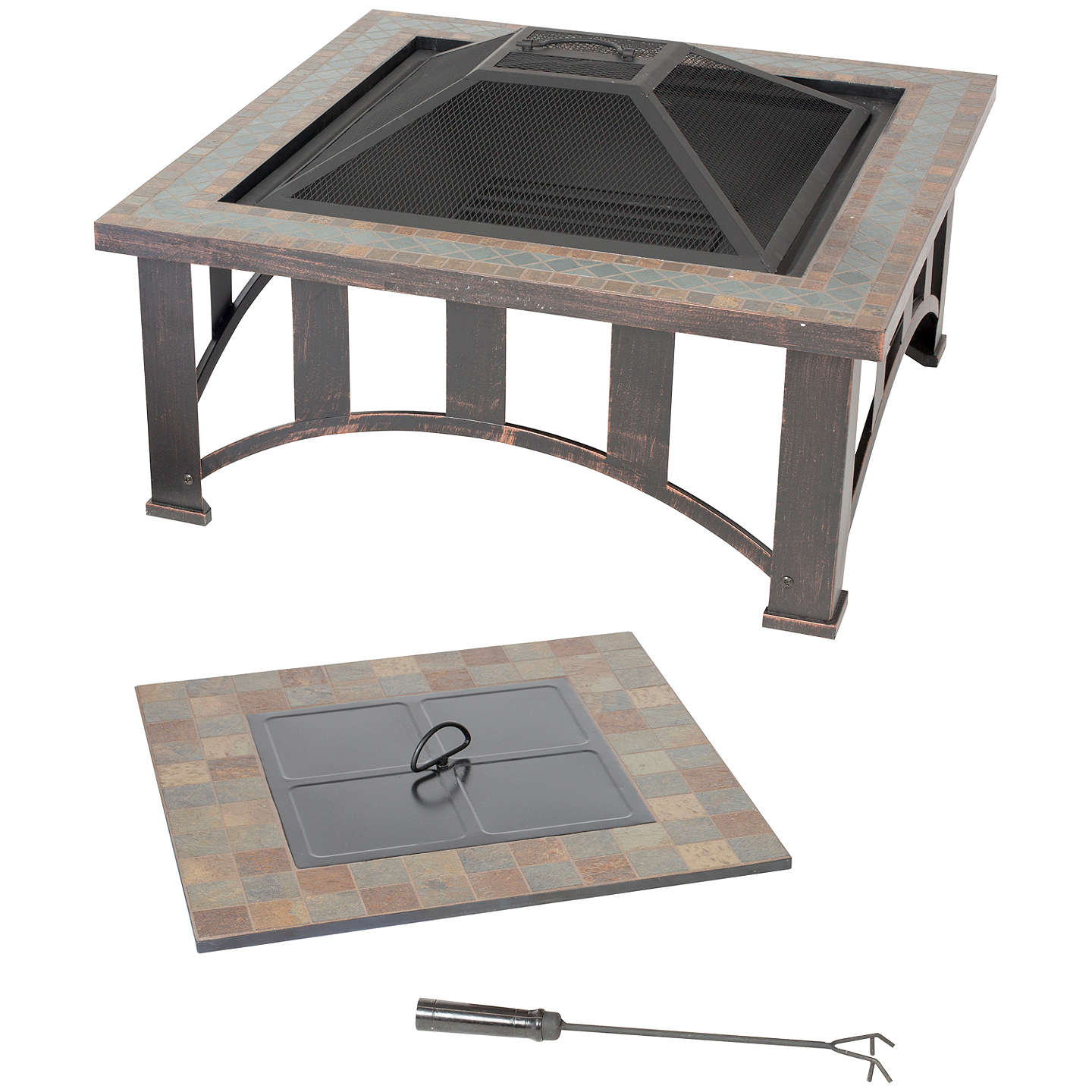 Delicieux BuyLa Hacienda Edenton Firepit Table Online At Johnlewis.com ...