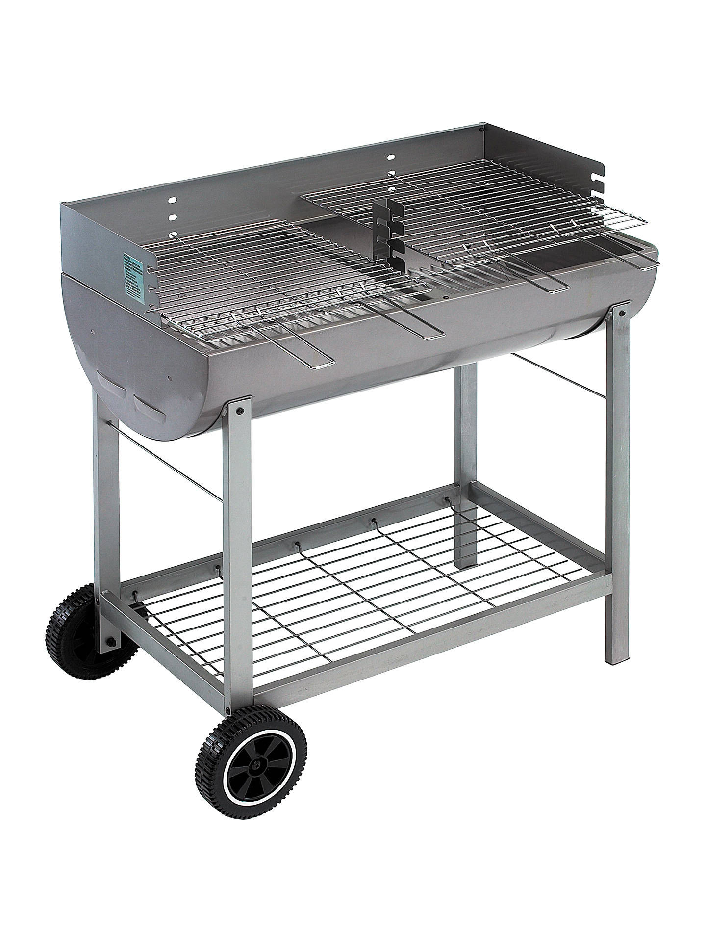 landmann grill chef oil drum charcoal bbq at john lewis & partners