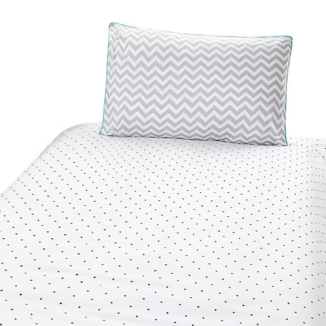 Buy John Lewis Baby Chevron And Stars Cot Cotbed Cotton