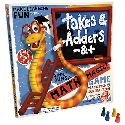 House of Marbles Takes And Adders Game