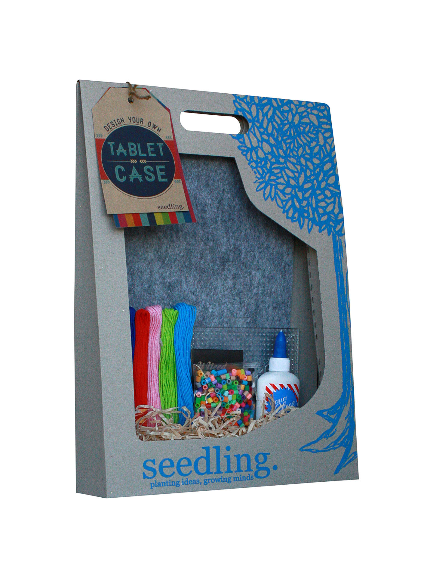 low priced 70a2e 7cede Seedling Design Your Own Tablet Case Kit at John Lewis & Partners