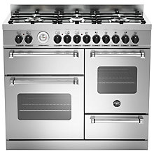 Buy Bertazzoni MAS1006MFET Electric Dual Fuel Cooker Online at johnlewis.com