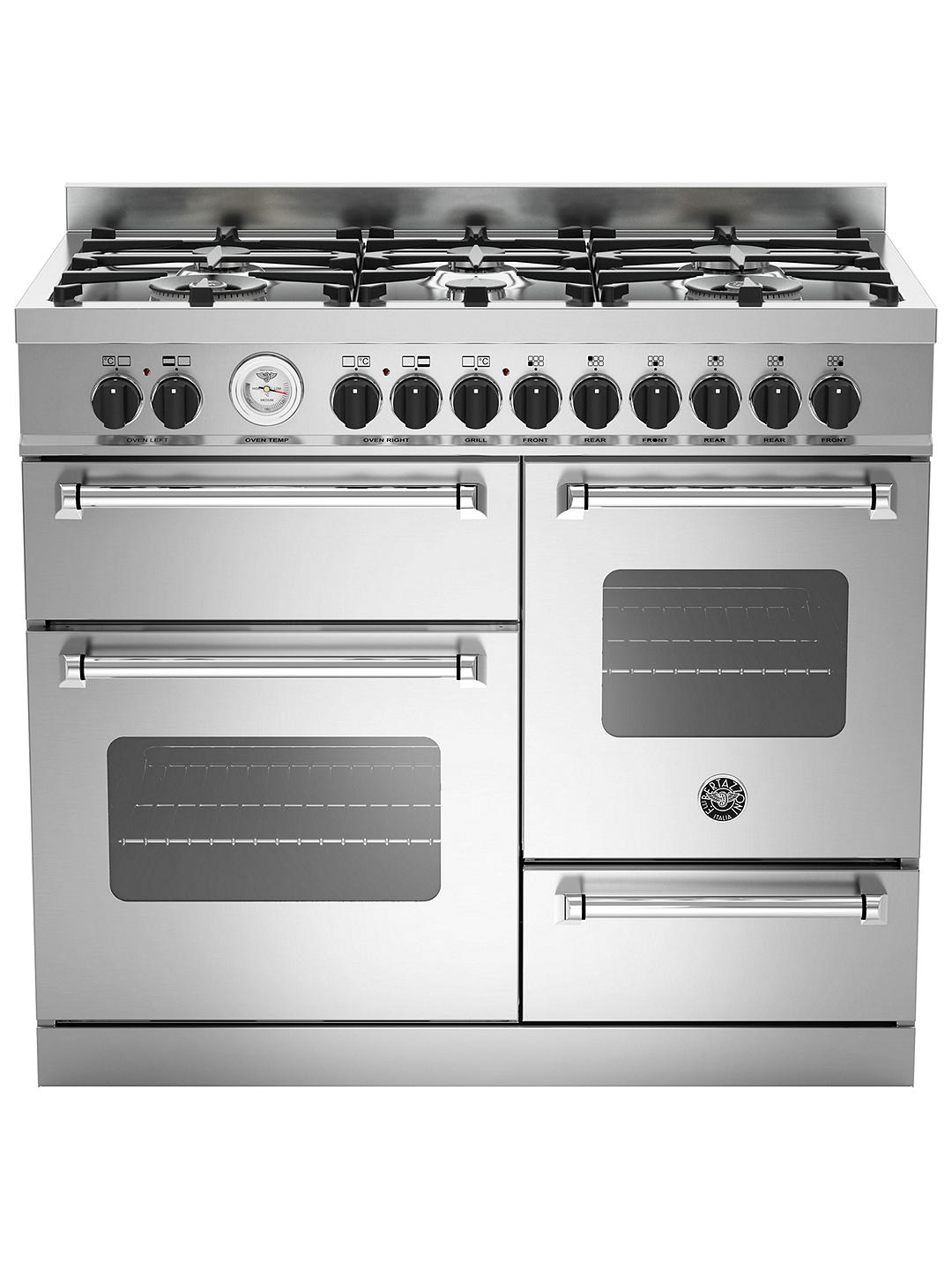 Buy Bertazzoni MAS1006MFETXE Cooker, Stainless Steel Online at johnlewis.com