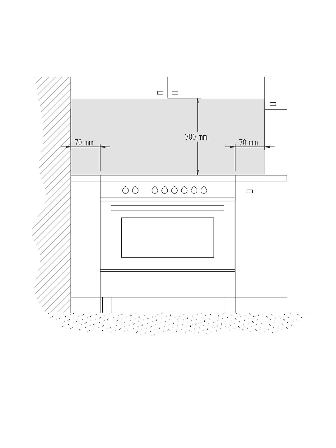 Buy Bertazzoni MAS905MFED Twin Dual Fuel Range Cooker, Stainless Steel Online at johnlewis.com