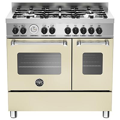 Image of Bertazzoni MAS905MFED Twin Dual Fuel Range Cooker