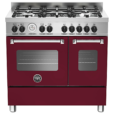 Bertazzoni MAS905MFED Twin Dual Fuel Range Cooker